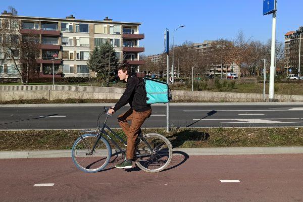Fietskoerier Eindhoven